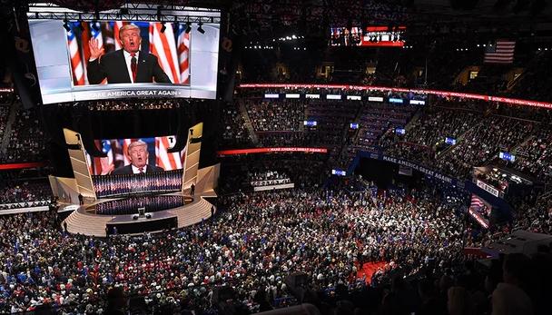 受疫情影响 美共和党提名特朗普投票活动将不对媒体开放