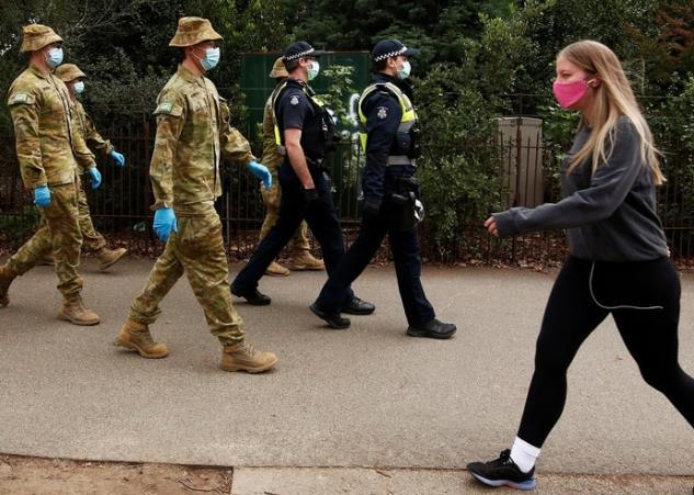 澳大利亚维州800名隔离者违规出门 州长急了