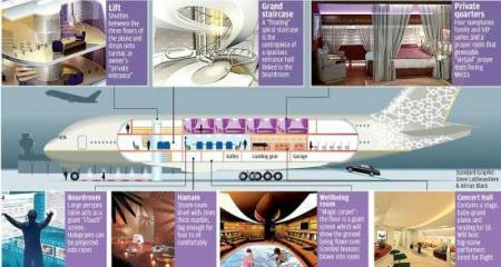 世界最豪华私人飞机