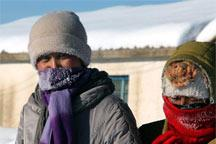 Temperature drops to minus 42 degrees in NW China´s Xinjiang