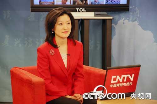 中国网路电视_中国网络电视台专访上海世博会执行委员会副主任周汉民[组图]