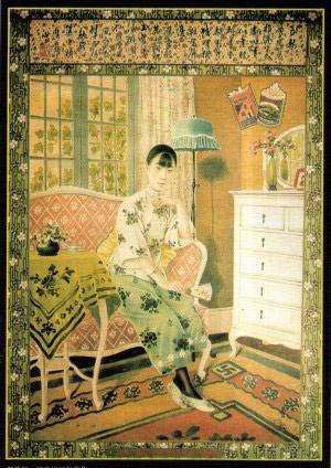 昔日风靡一时的老上海月份牌广告画  中国最早的报纸广告