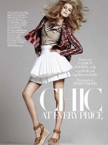 看时尚杂志大牌教你如何穿衣