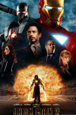 "Poster of ""Iron Man 2"" (File Photo)"