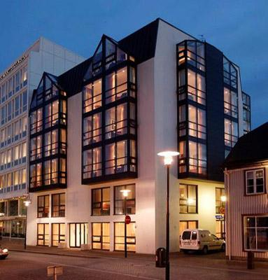 101 hotel is a boutique hotel, situated in the heart of Reykjavik, the capital of Iceland. It is a member of Design Hotels.