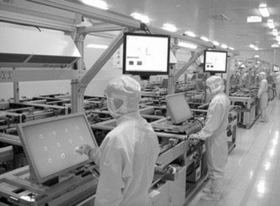 2007年9月,第一条液晶模组生产线在海信建成投产。