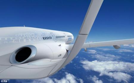 Airbus pubulishes the images of a fantasy-like aircraft which might be the type of plane flying by 2050, or even 2030 if technology continues at a good rate. (Photo: china.com.cn