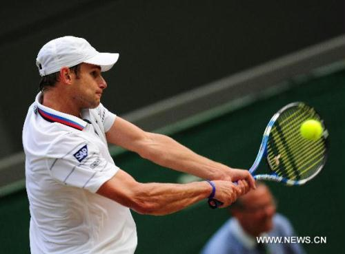 Andy Roddick (Xinhua file photo)