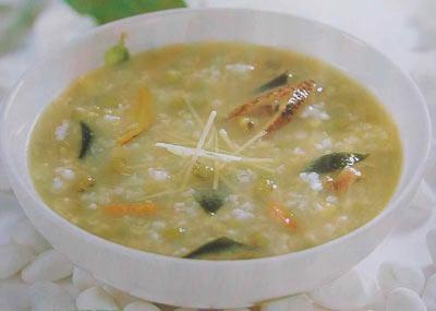 海带生地绿豆瘦肉汤