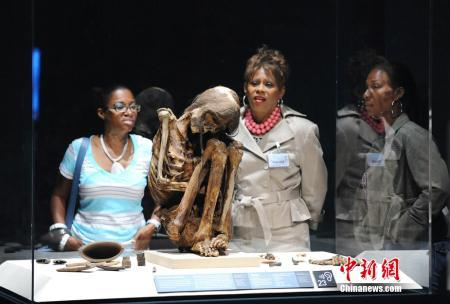 """Mummies of the World,"" the largest exhibition of mummies ever assembled by California Science Center in downtown Los Angeles, has become one of the most successful paid exhibit openings which has attracted over 100,000 visitors in some 50 days(File Photo)"