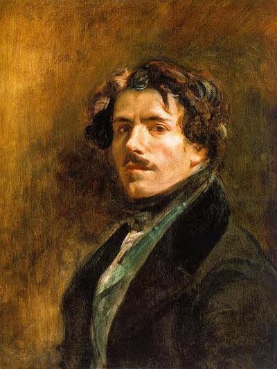 法国浪漫主义画派大师 德拉克洛瓦