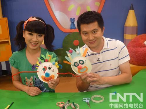 巧巧手:小丑面具 20101004