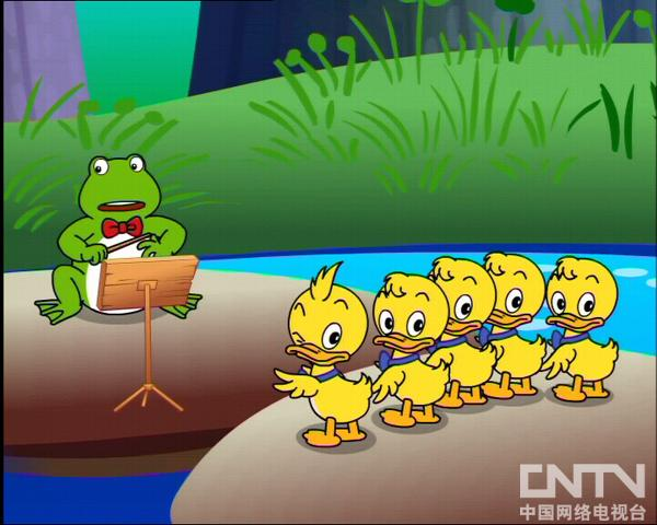 MiniTeddy学英语池塘音乐会