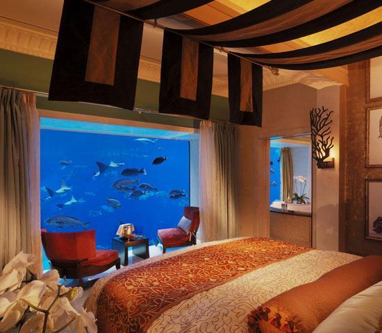 沙漠中的绿洲——迪拜棕榈岛亚特兰蒂斯度假酒店(一)