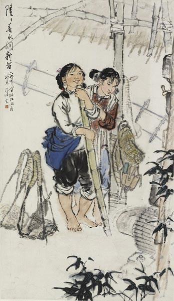 潘天壽等老一輩畫家教誨,傳統功底深厚,造型寫生能力扎實,并深諳中國