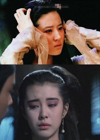感觉刘亦菲完全木有表现出女鬼的哀怨