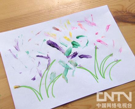3-画小花