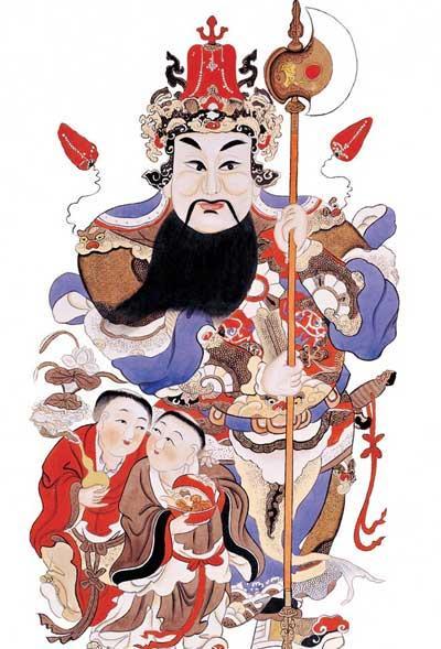 民间艺术:中国的年画故事图片
