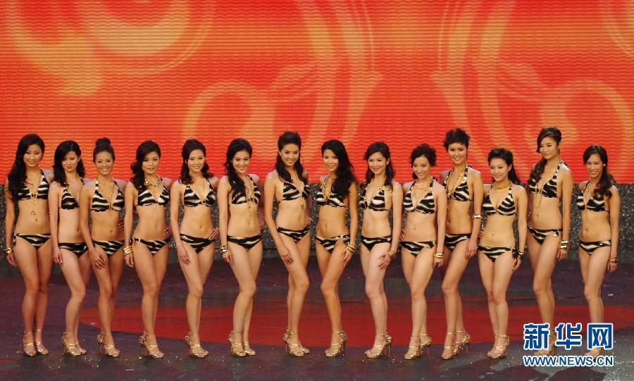 2011香港小姐竞选决赛在香港将军澳电视城举