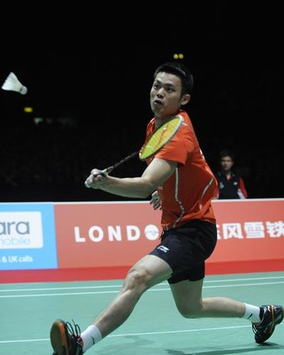 林丹2 1逆转李宗伟夺冠 世锦赛国羽男单5连冠