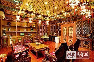 堪比皇宫照片来自哈药六厂官网