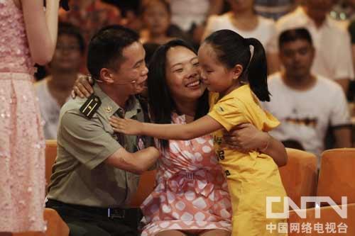 王俊景感谢妻儿的爱