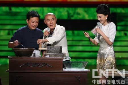 张卫健磨豆腐