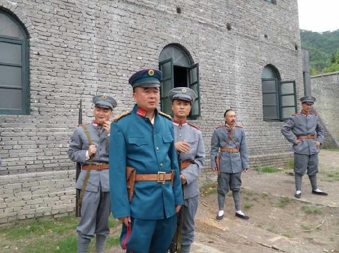 武昌首义拍摄现场