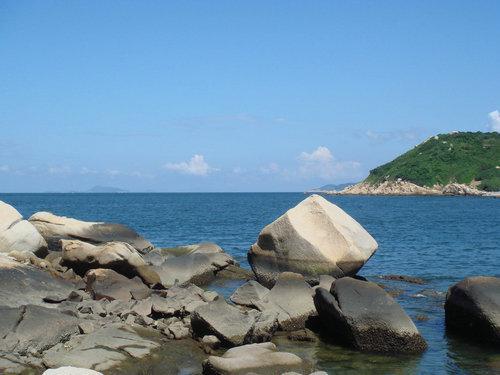 汕头的南澳岛是一个山海合一的岛屿