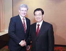 Le président chinois et le PM canadien se rencontrent pour promouvoir le partenariat stratégique