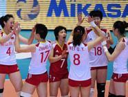 Китайская сборная обыграла команду Кении на Кубке мира по волейболу среди женских команд-2011