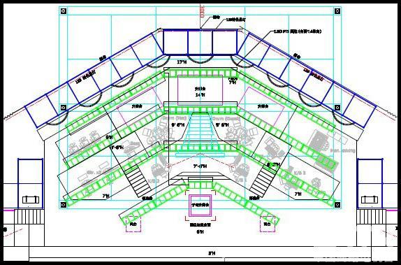 舞台结构平面图
