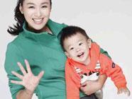 Мама-звезда Шэнь Аоцзюнь со своим сыном