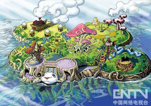 《仓鼠乐园》动画片的全景图