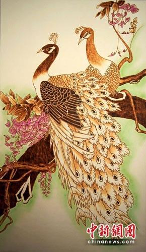 康之园 葫芦烙画荷花图片 > 天然葫芦,烙画亚腰葫芦  天然葫芦,烙画亚