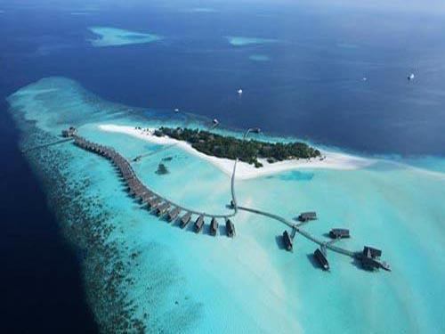 马尔代夫群岛 下世纪它会被海水淹没