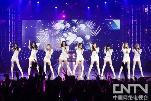 韩国女子团体少女时代泰国首次演唱会华丽上演