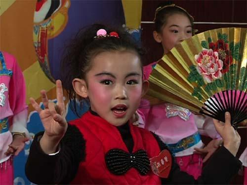 文登市第二实验小学刘春燕演唱《贵妃醉酒》