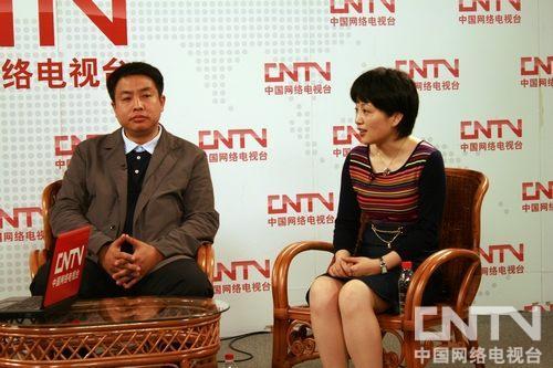央视纪录频道总监刘文、副总监周艳在访谈中