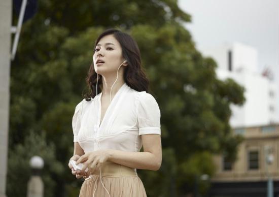 宋慧乔是韩国知名的大美女