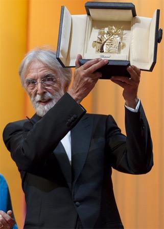 迈克尔-哈内克执导的《爱》获最佳影片金棕榈大奖
