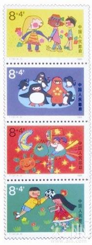 6月1日是六一儿童节,与儿童相关题材的邮票