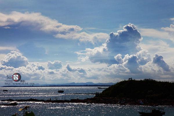 韦富伦摄影作品—广西防城港怪石滩景点
