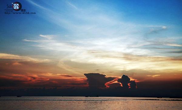 韦富伦摄影作品—广西防城港怪石滩景点_旅游频道