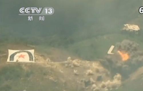 [视频]朝鲜半岛近期军演频繁 三八线附近韩美联合火力演习
