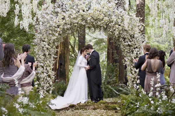 爱德华和贝拉婚礼现场