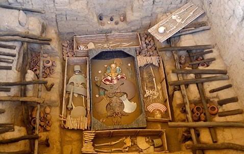 资料图:西潘王墓室