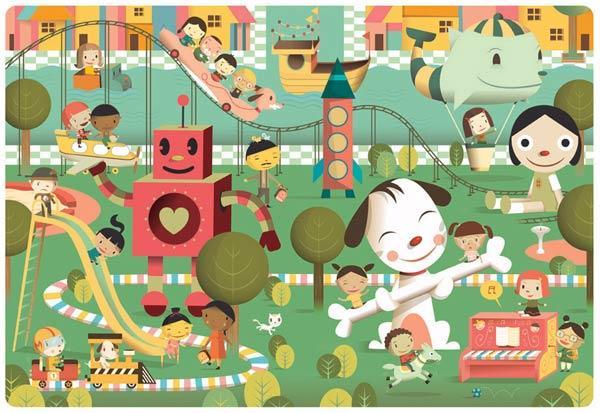 可爱的动画片,漂亮的童书绘本其实也都出自于成年人