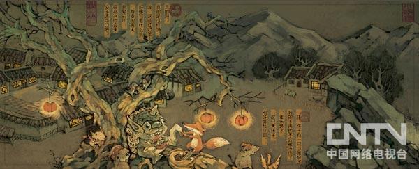 艺术台 插画         雪娃娃:确实,我们一直绘画的风格都偏欧式,中国