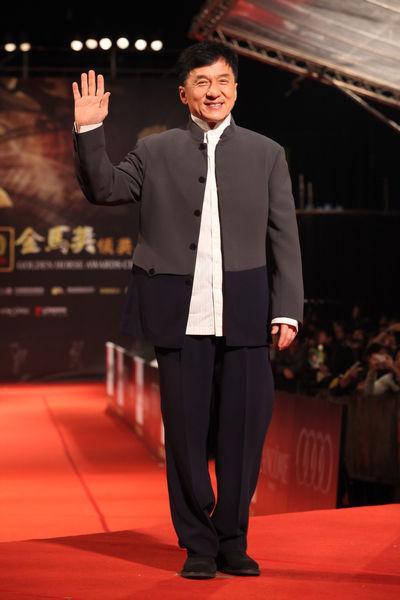 2010年成龙出席第47届颁奖典礼